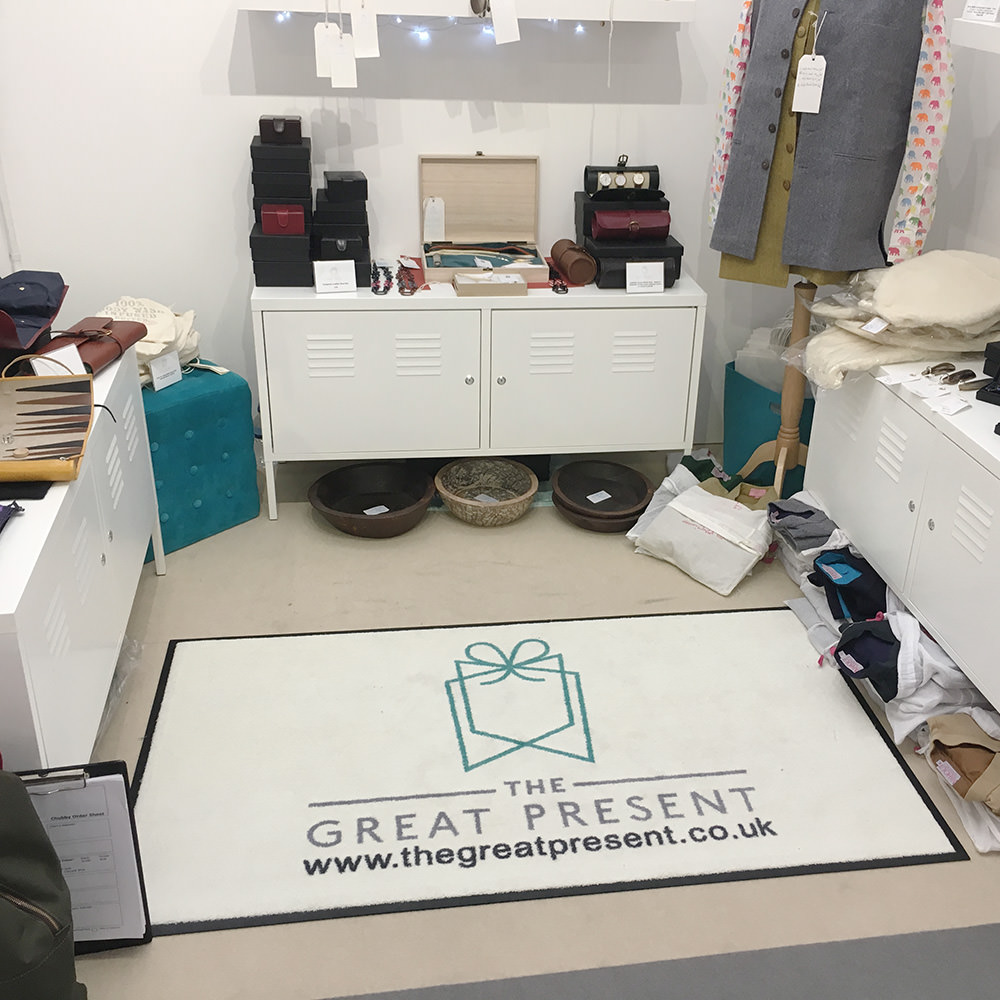 The Great Present Logo Mat Testimonial