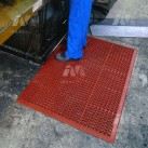 Honeycomb Anti-Slip Kitchen Swarf Mats