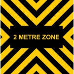 Covid 19 - 2 Metre Zone - Mat